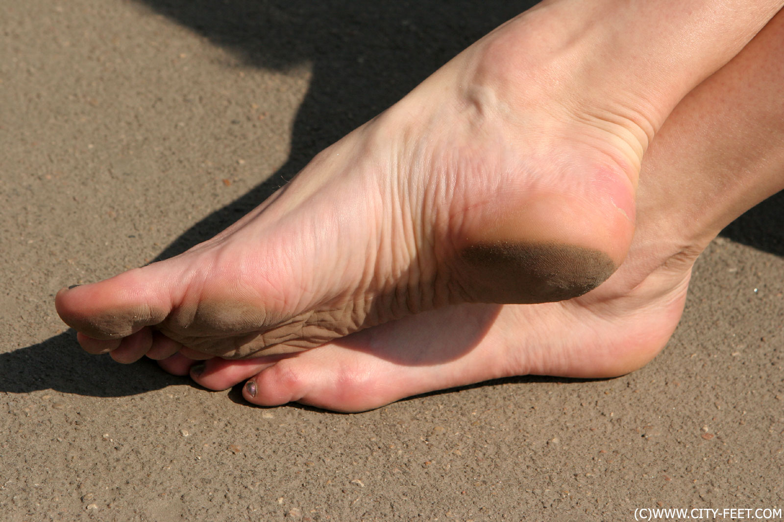 arched foot fetish