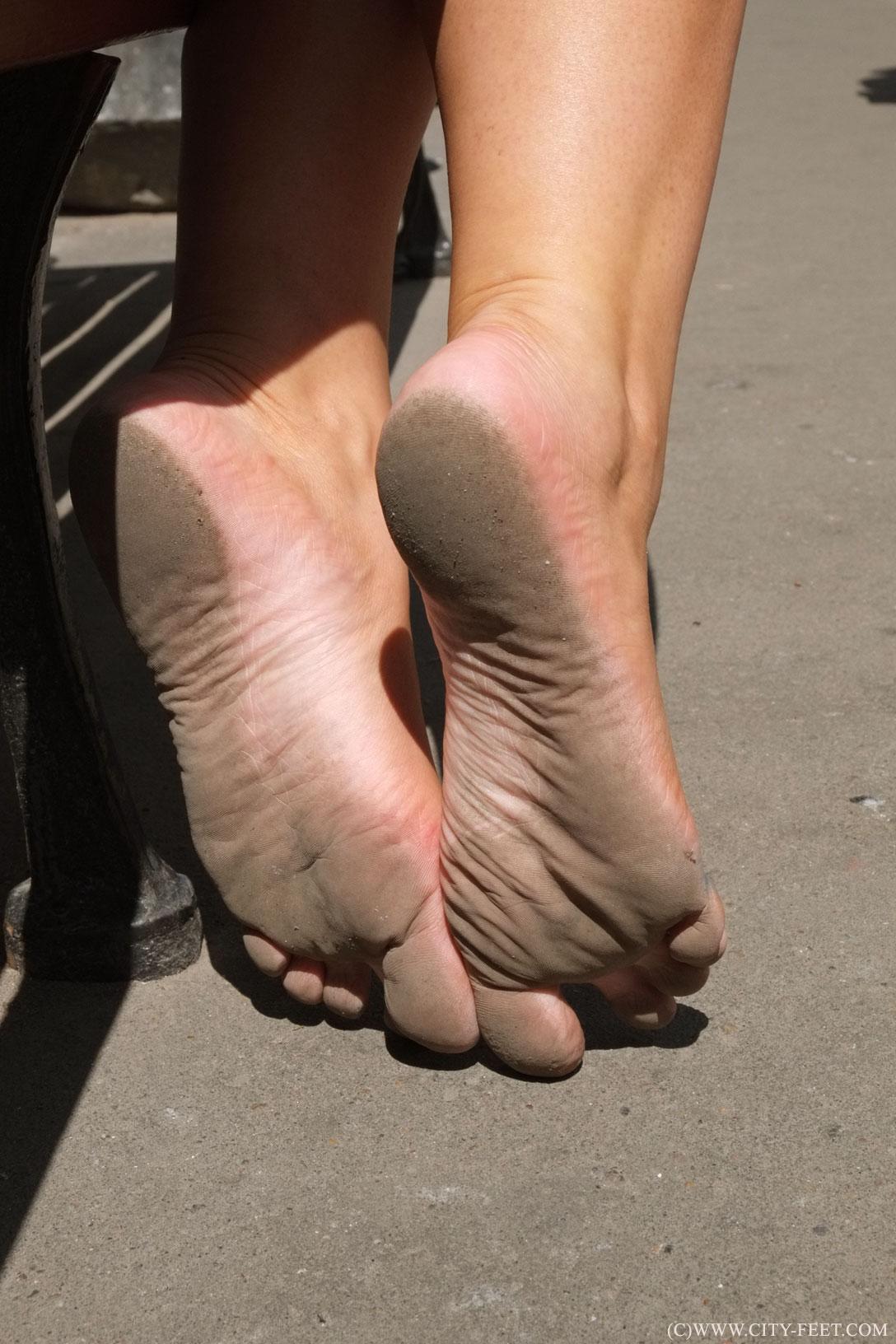 Foot feet russian