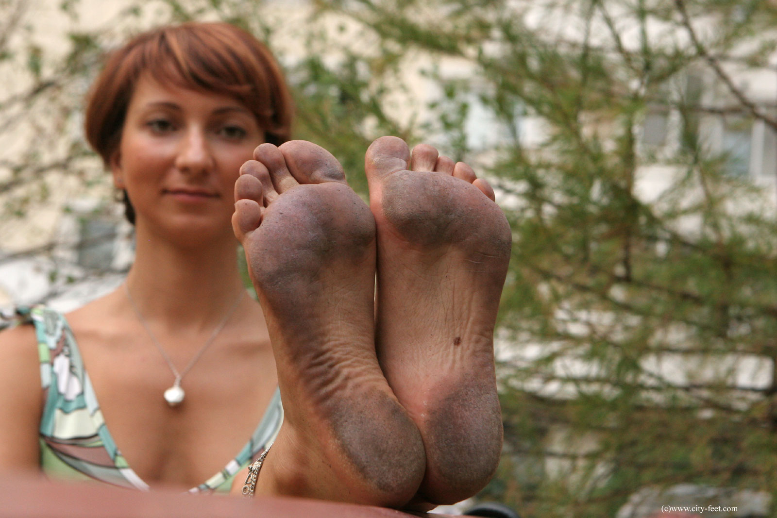 Opinion Naked girl dirty feet idea